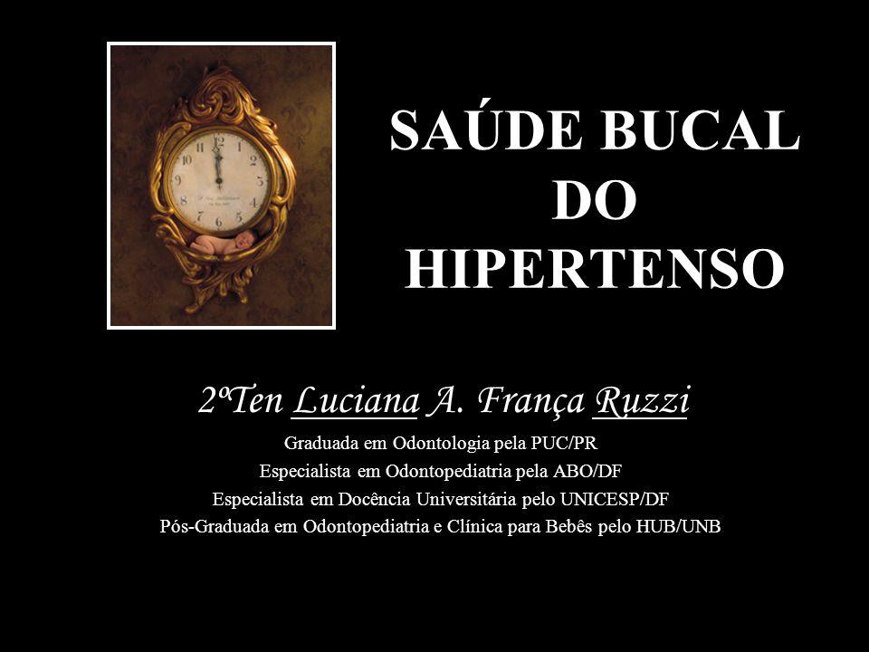 SAÚDE BUCAL DO HIPERTENSO