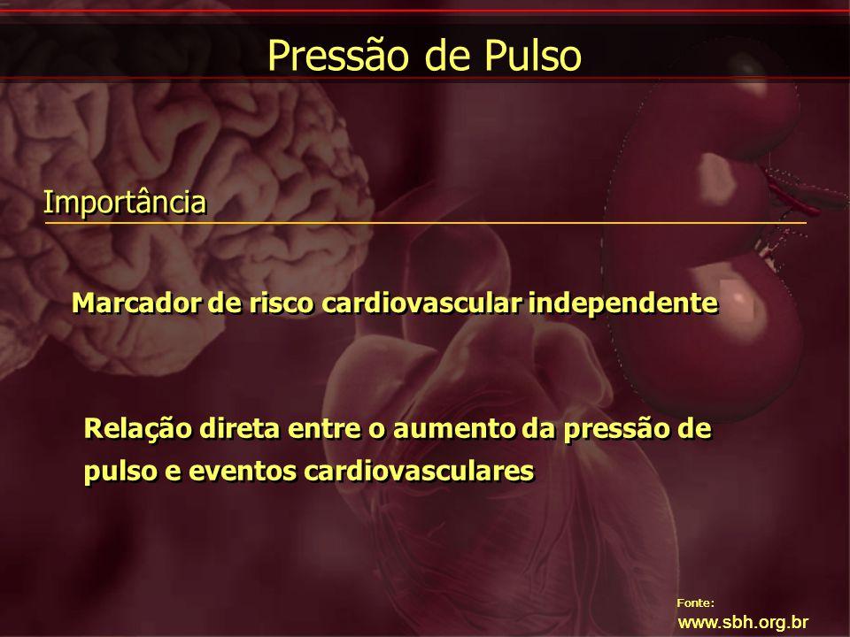 Pressão de Pulso Importância