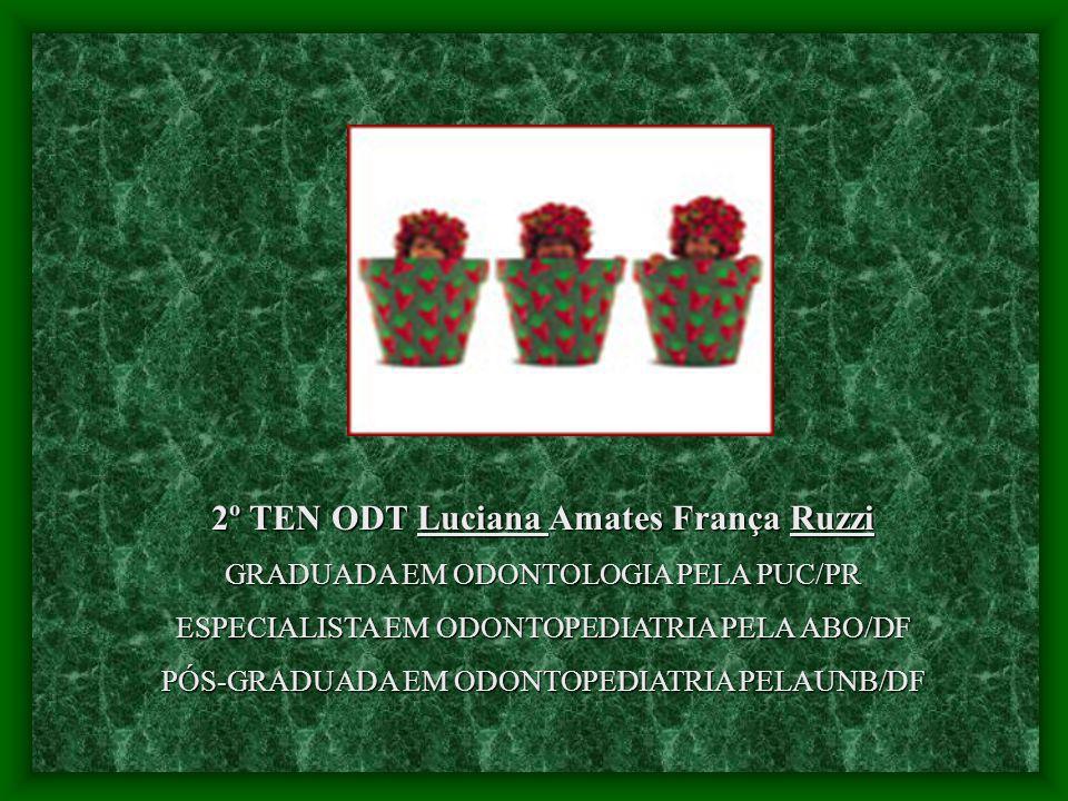 2º TEN ODT Luciana Amates França Ruzzi