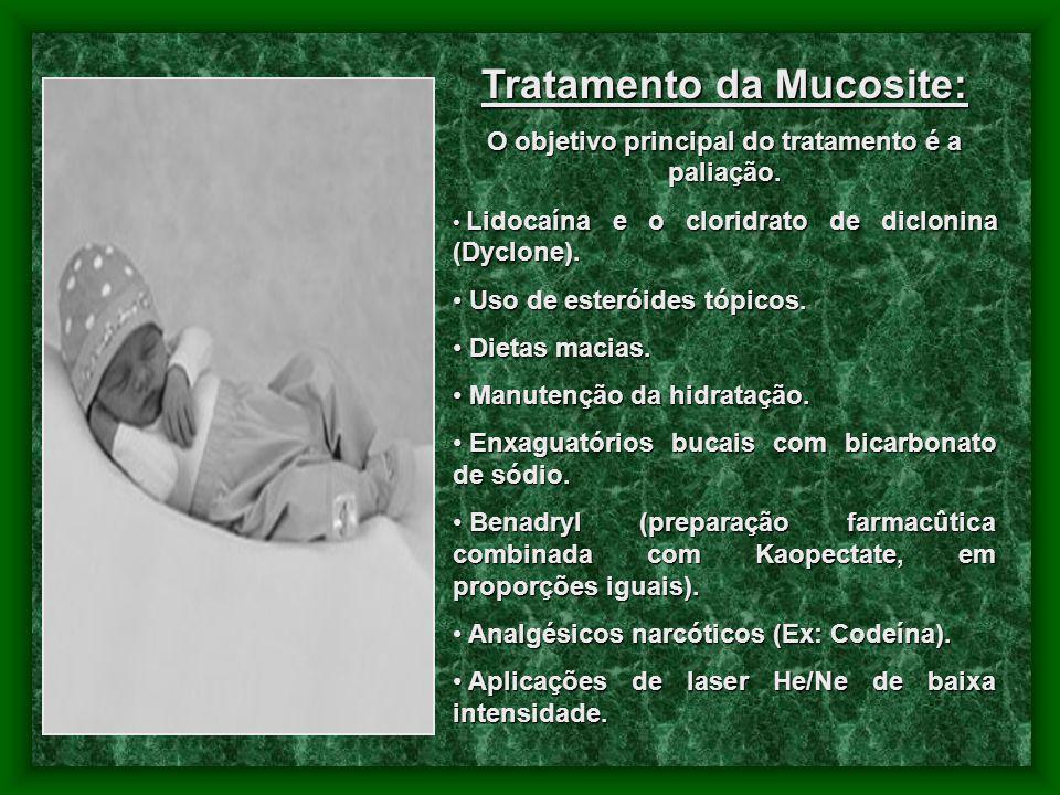 Tratamento da Mucosite: