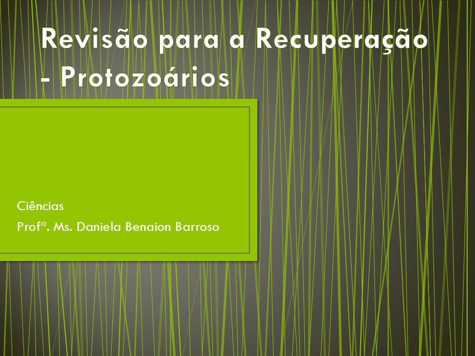 Revisão para a Recuperação - Protozoários