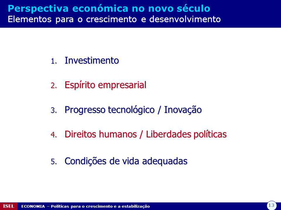 Progresso tecnológico / Inovação