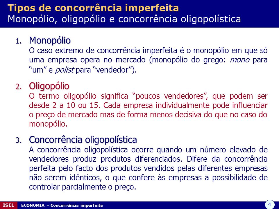 Concorrência oligopolística