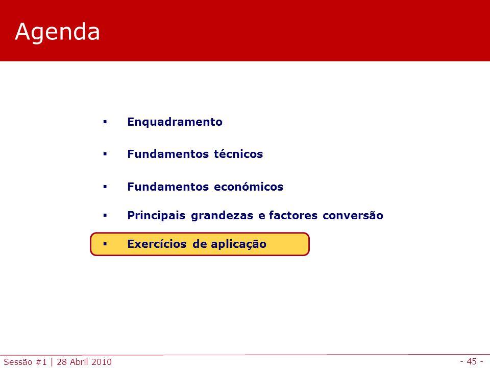 Agenda Enquadramento Fundamentos técnicos Fundamentos económicos