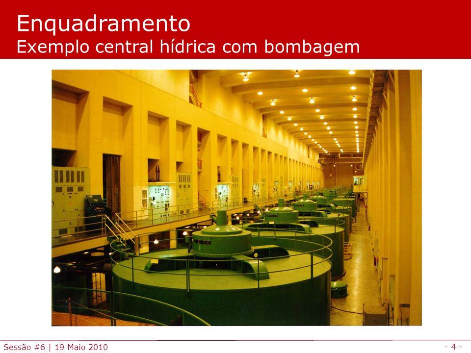 Enquadramento Exemplo central hídrica com bombagem