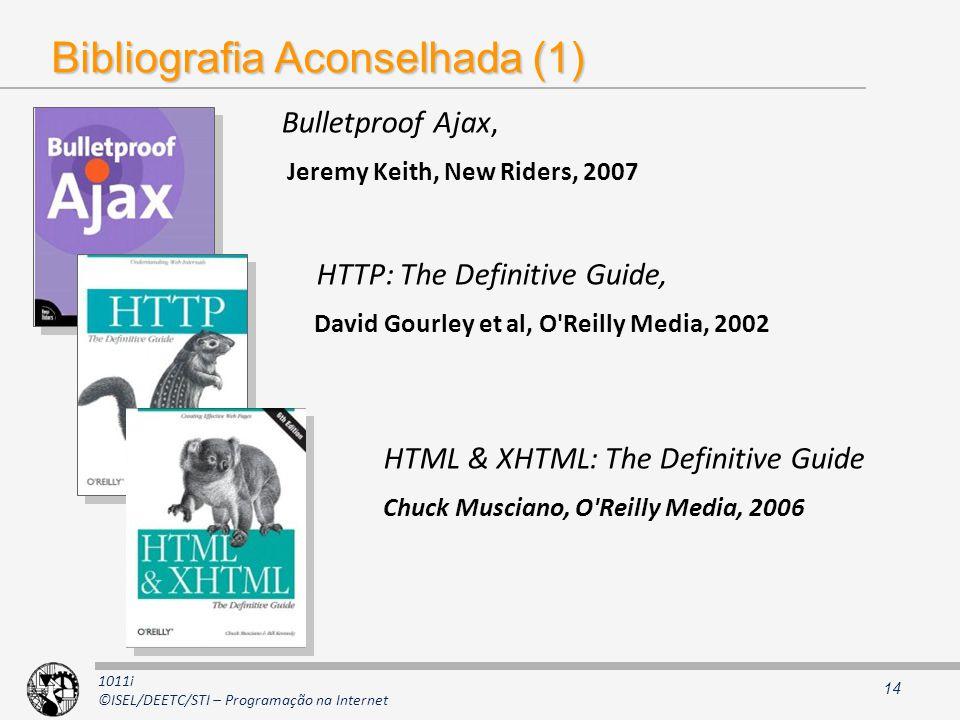 Bibliografia Aconselhada (1)