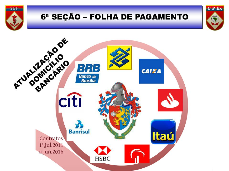 6ª SEÇÃO – FOLHA DE PAGAMENTO