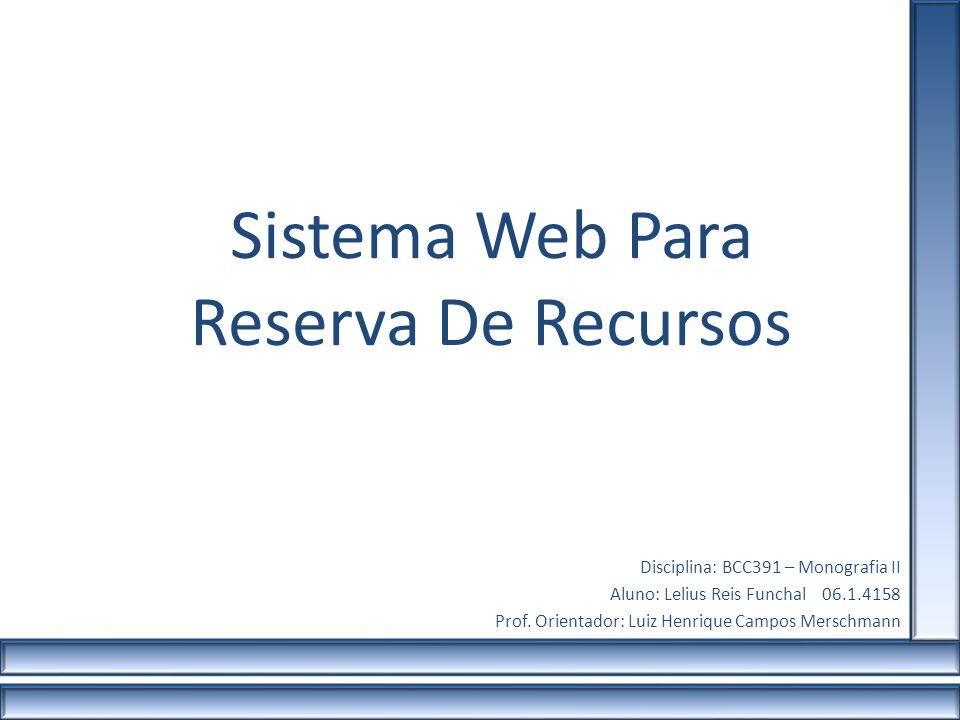Sistema Web Para Reserva De Recursos