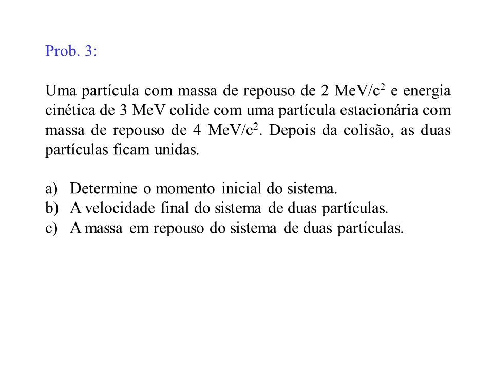 Prob. 3: