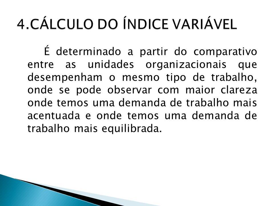 4.CÁLCULO DO ÍNDICE VARIÁVEL