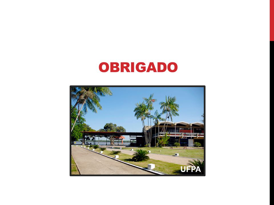 OBRIGADO UFPA