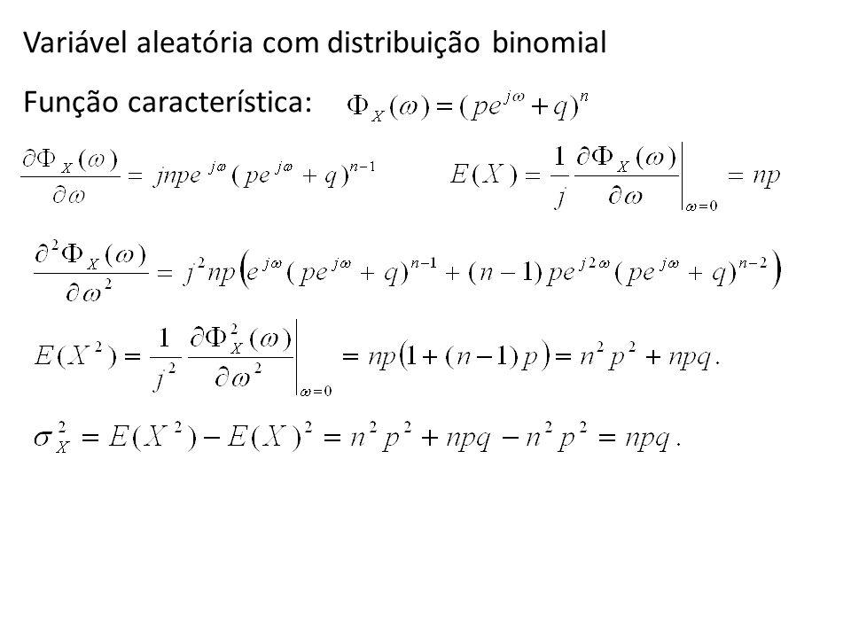 Variável aleatória com distribuição binomial