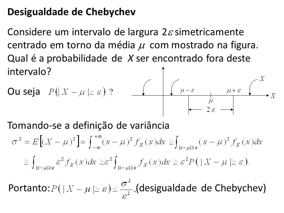 Desigualdade de Chebychev