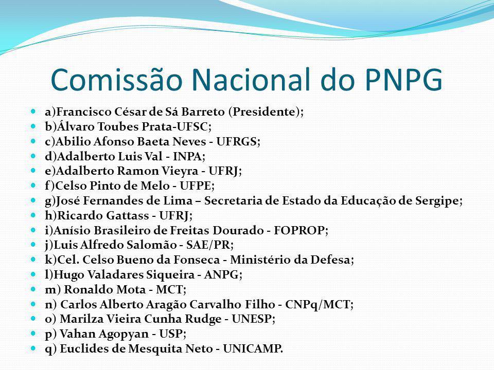 Comissão Nacional do PNPG