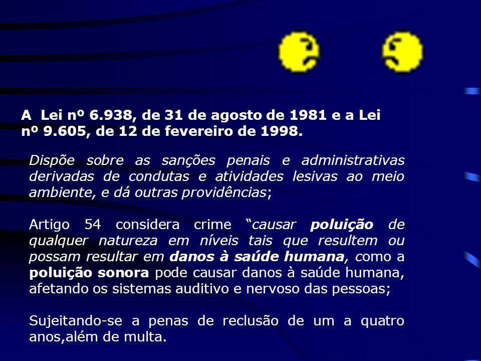 A Lei nº 6. 938, de 31 de agosto de 1981 e a Lei nº 9