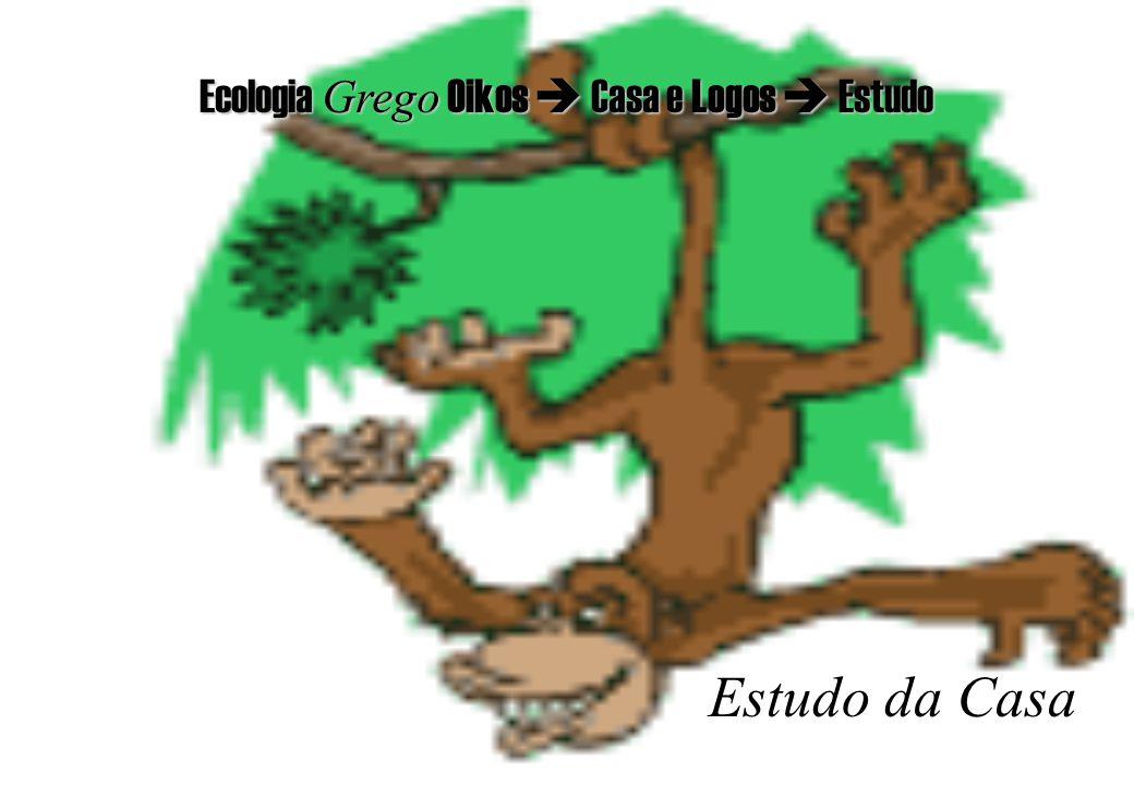 Ecologia Grego Oikos  Casa e Logos  Estudo