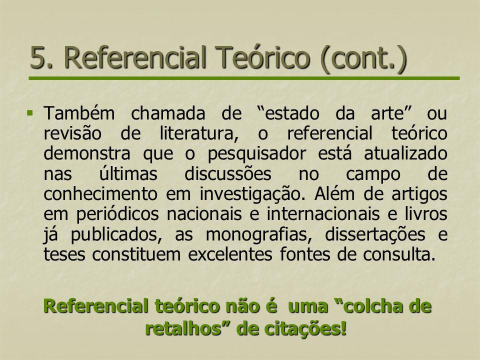 5. Referencial Teórico (cont.)