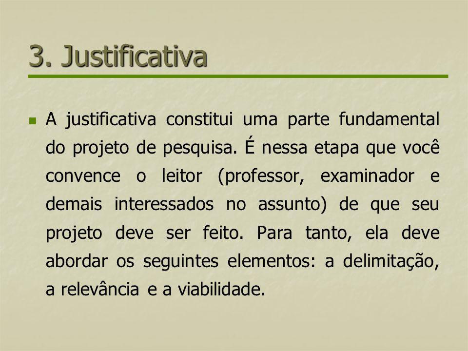 3. Justificativa