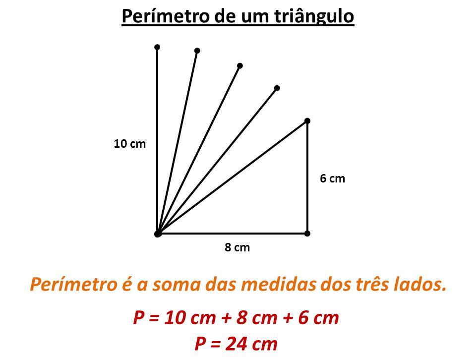 Perímetro de um triângulo