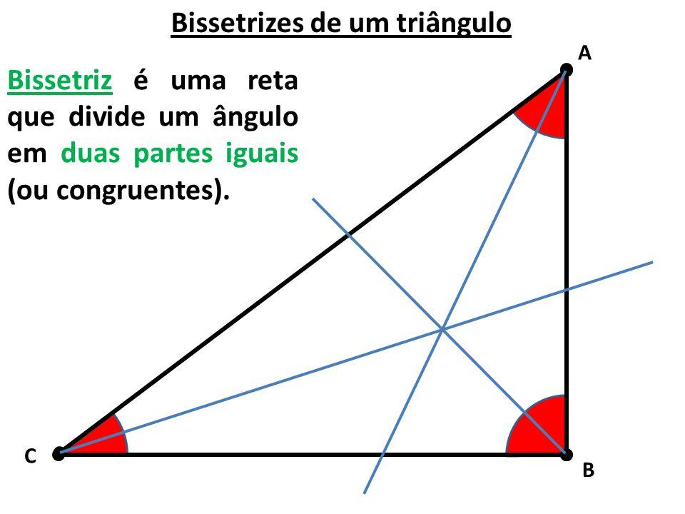 Bissetrizes de um triângulo