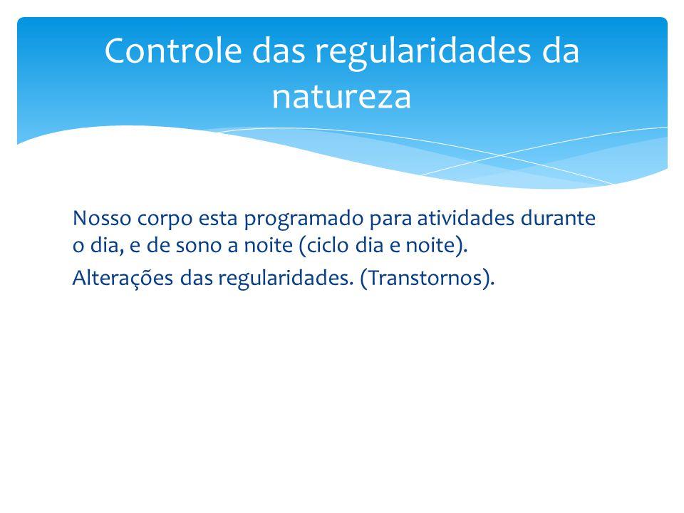 Controle das regularidades da natureza