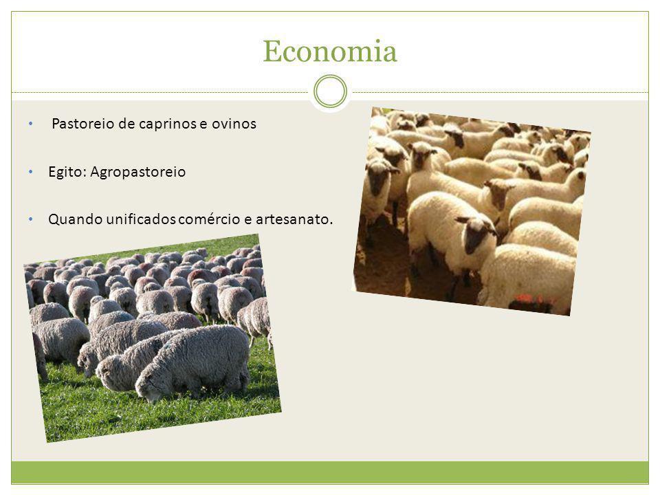 Economia Pastoreio de caprinos e ovinos Egito: Agropastoreio