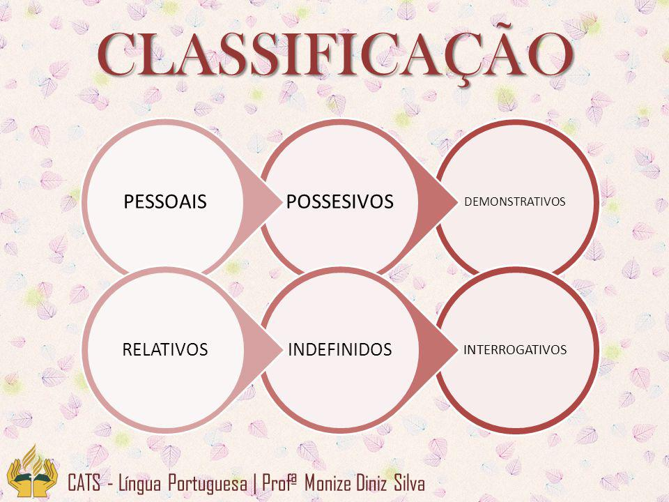 CLASSIFICAÇÃO CATS - Língua Portuguesa | Profª Monize Diniz Silva