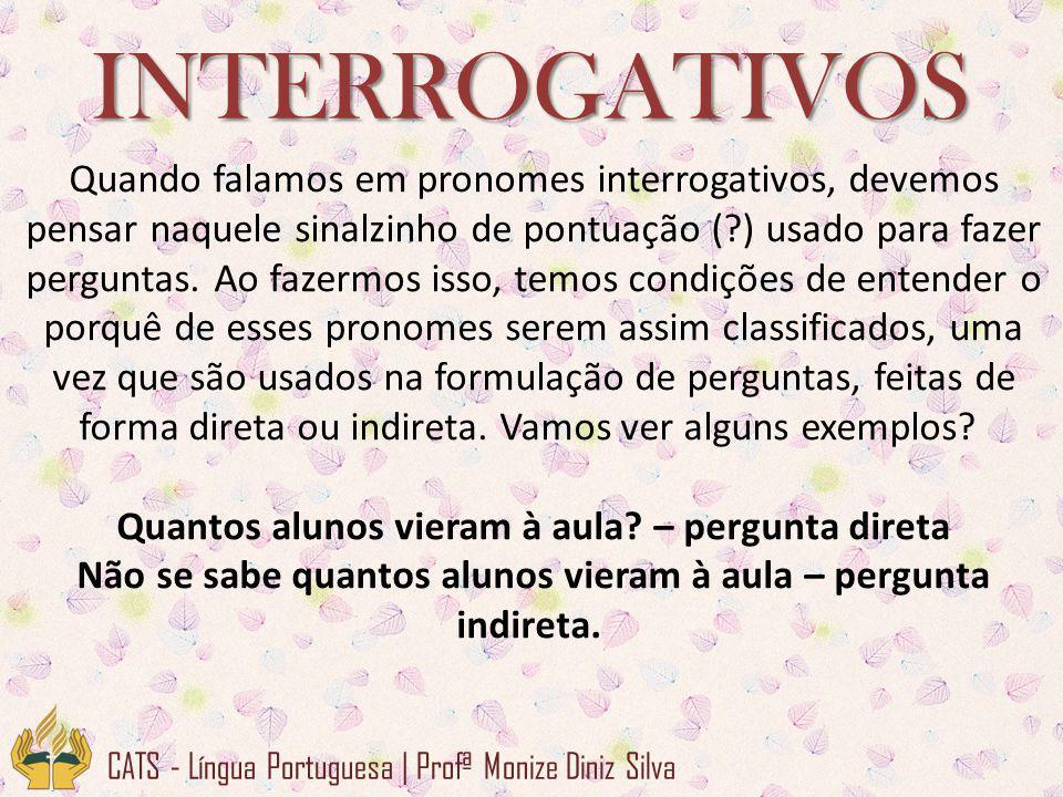 INTERROGATIVOS