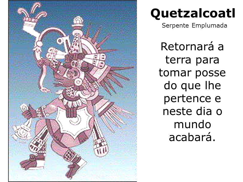 Quetzalcoatl Serpente Emplumada.