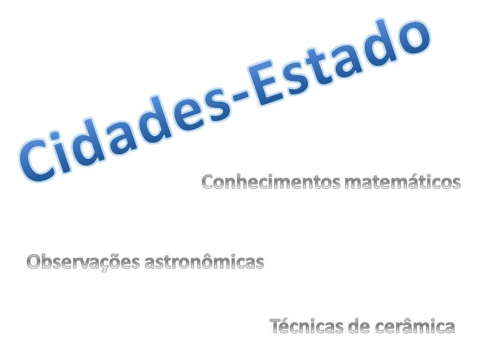 Conhecimentos matemáticos Observações astronômicas