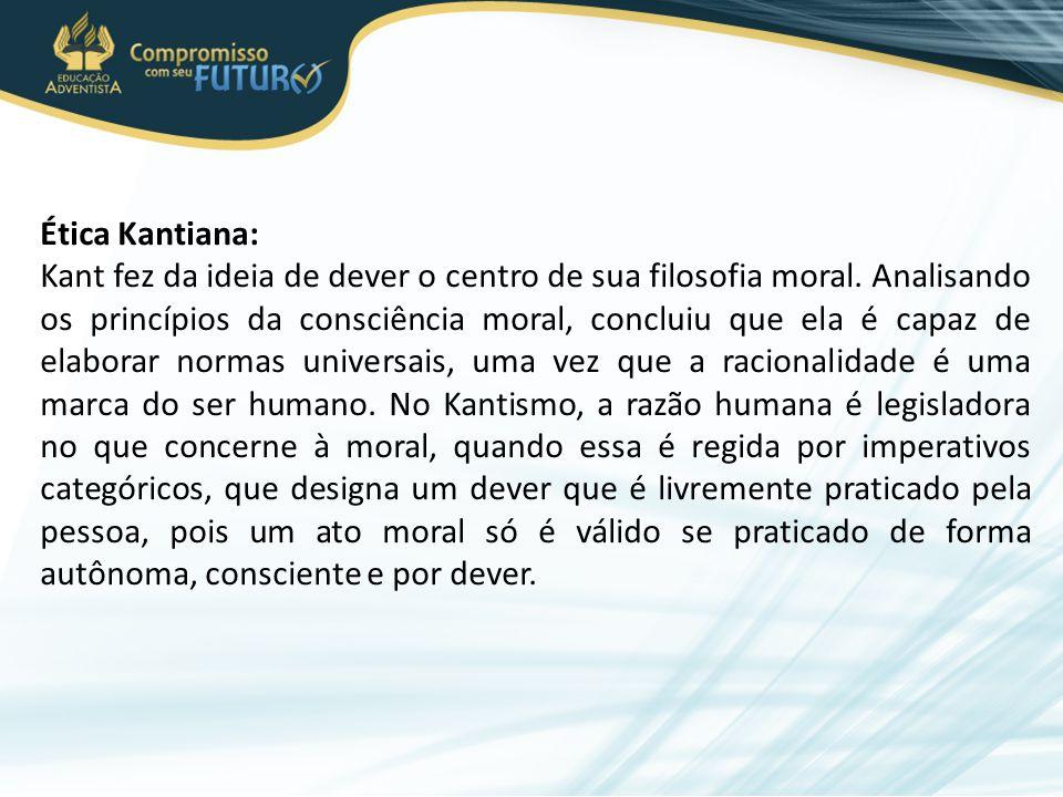 Ética Kantiana: