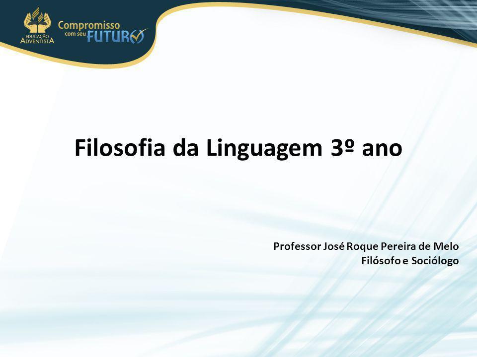 Filosofia da Linguagem 3º ano