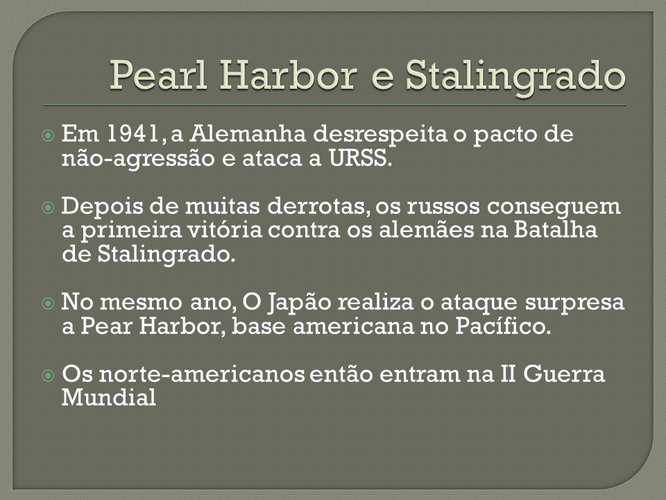 Pearl Harbor e Stalingrado