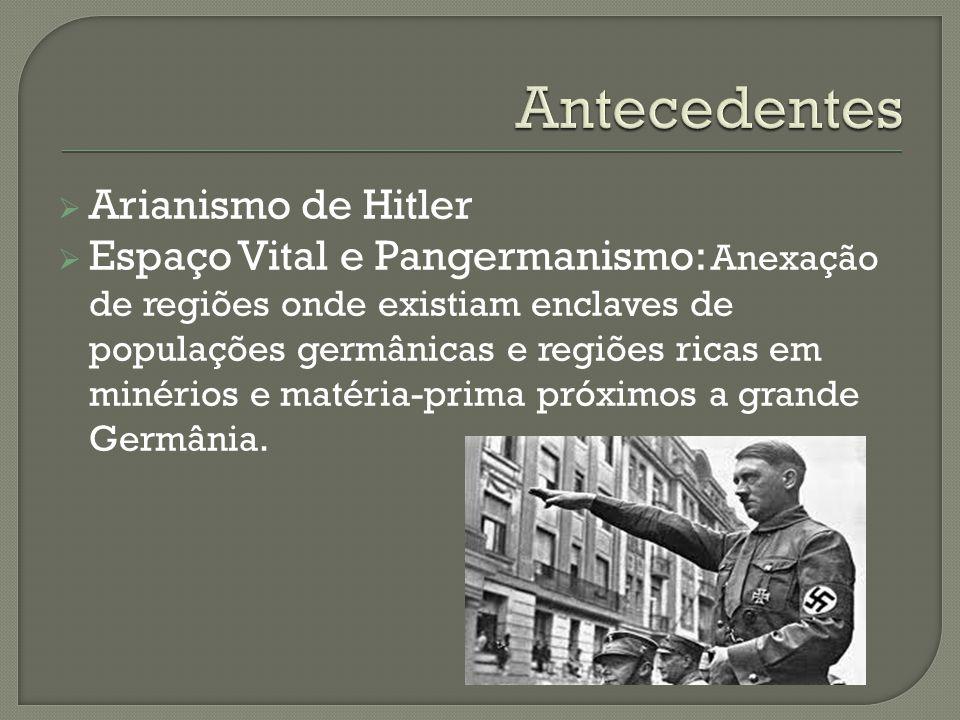 Antecedentes Arianismo de Hitler