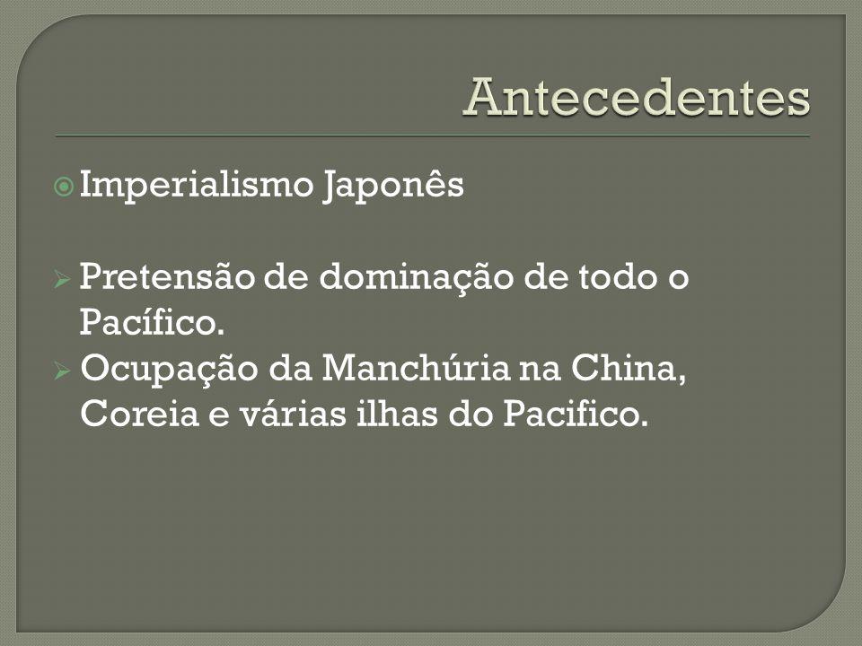 Antecedentes Imperialismo Japonês