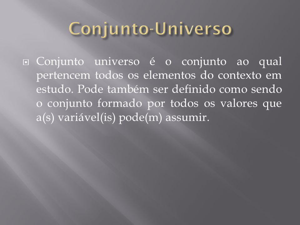 Conjunto-Universo
