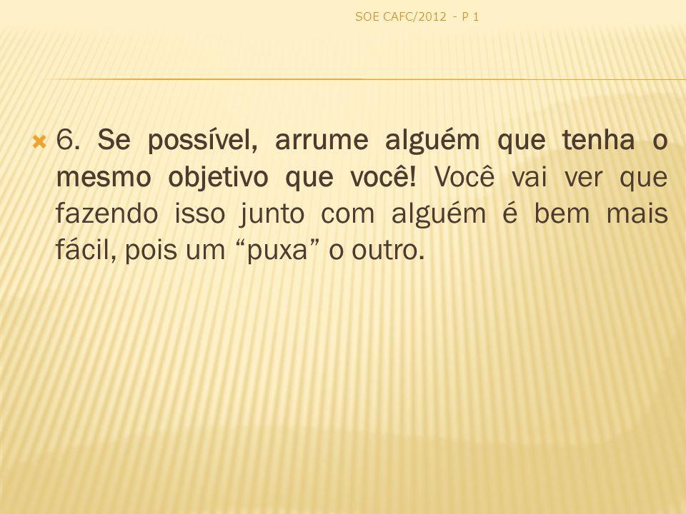 SOE CAFC/2012 - P 1