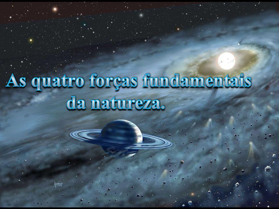As quatro forças fundamentais