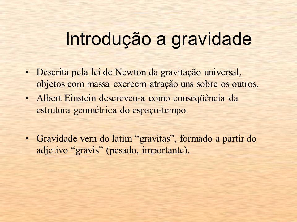 Introdução a gravidade