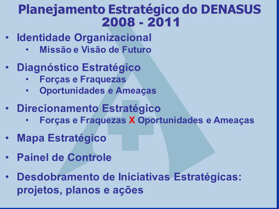 Planejamento Estratégico do DENASUS 2008 - 2011