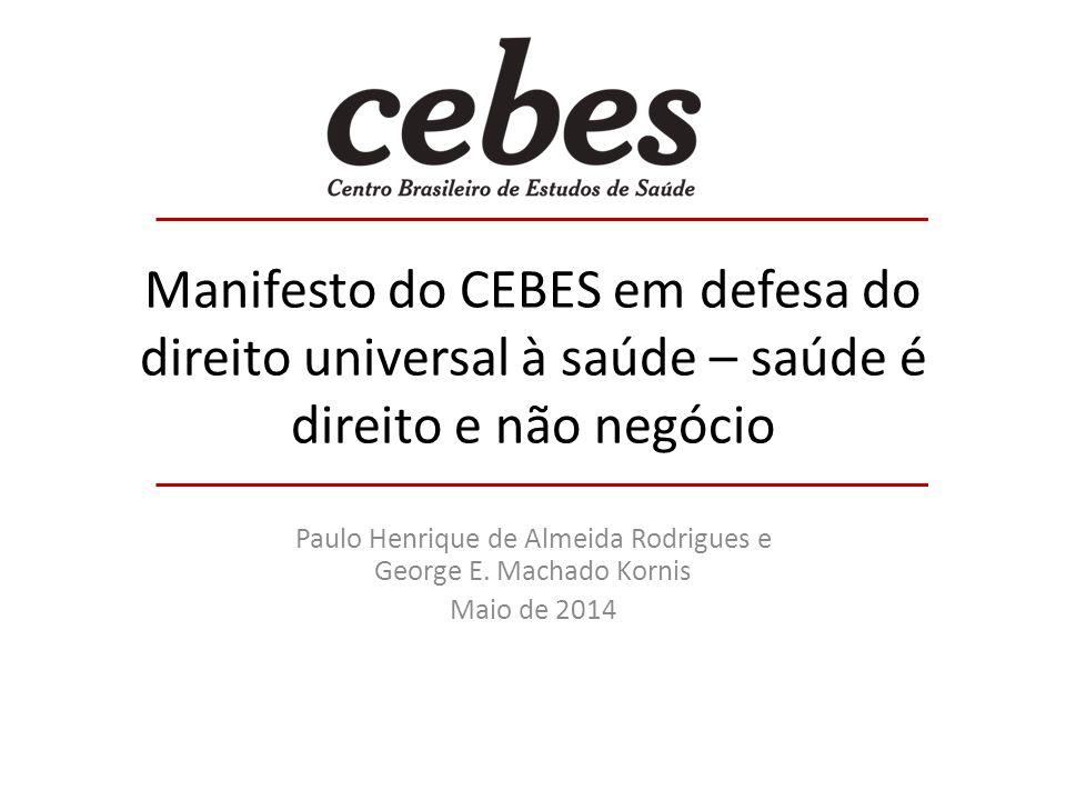 Paulo Henrique de Almeida Rodrigues e George E. Machado Kornis