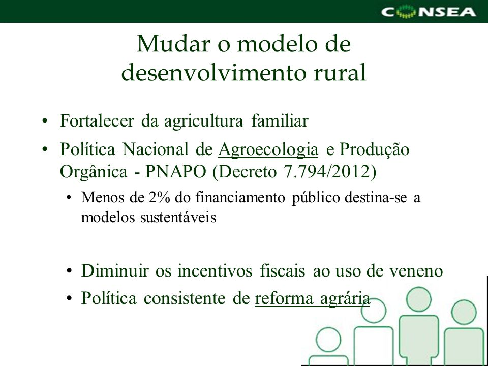 Mudar o modelo de desenvolvimento rural