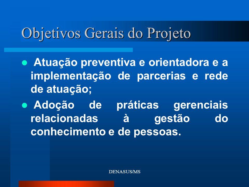 Objetivos Gerais do Projeto