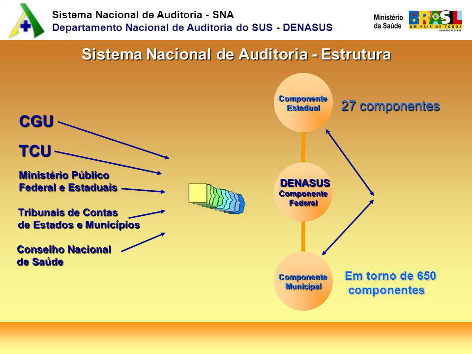 Sistema Nacional de Auditoria - Estrutura