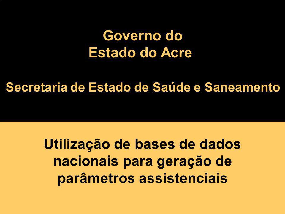 Secretaria de Estado de Saúde e Saneamento