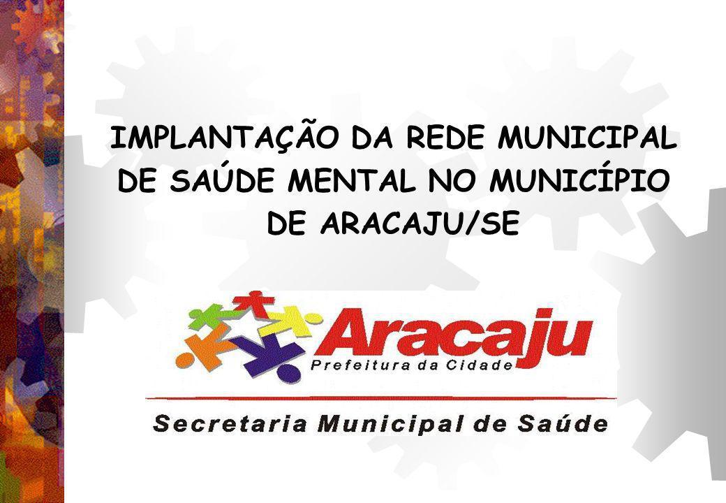 IMPLANTAÇÃO DA REDE MUNICIPAL DE SAÚDE MENTAL NO MUNICÍPIO DE ARACAJU/SE
