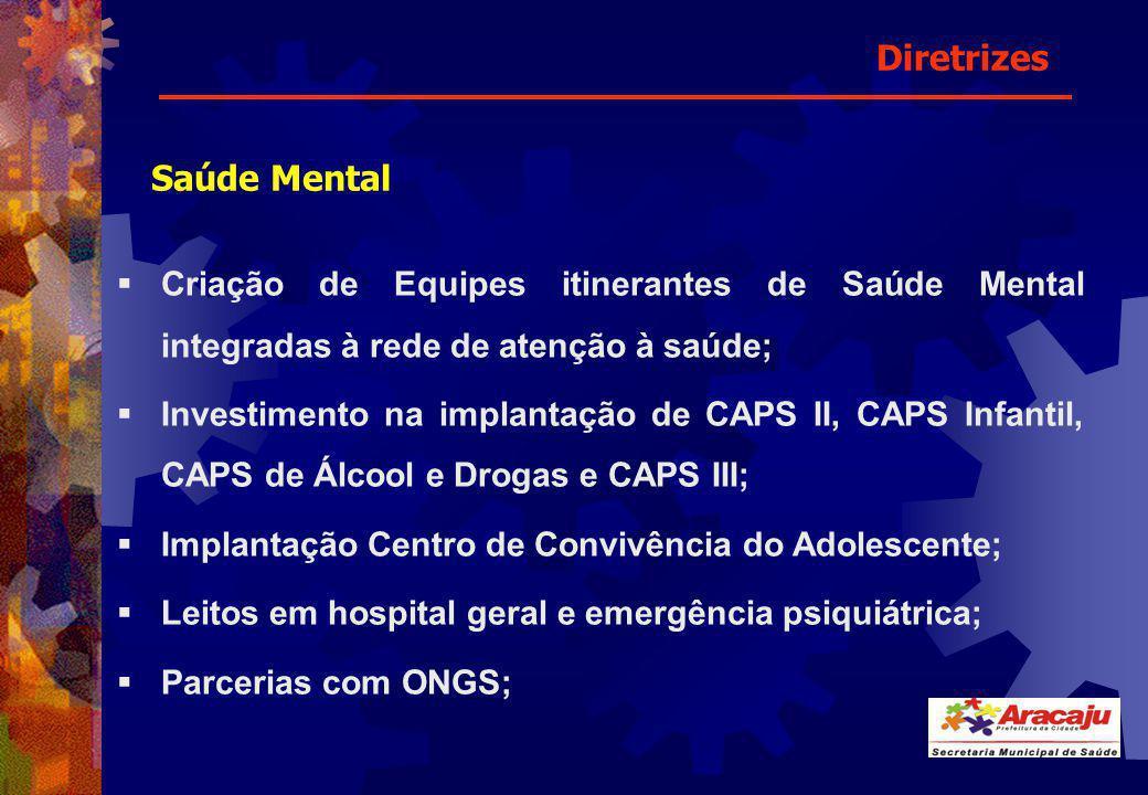 Diretrizes Saúde Mental
