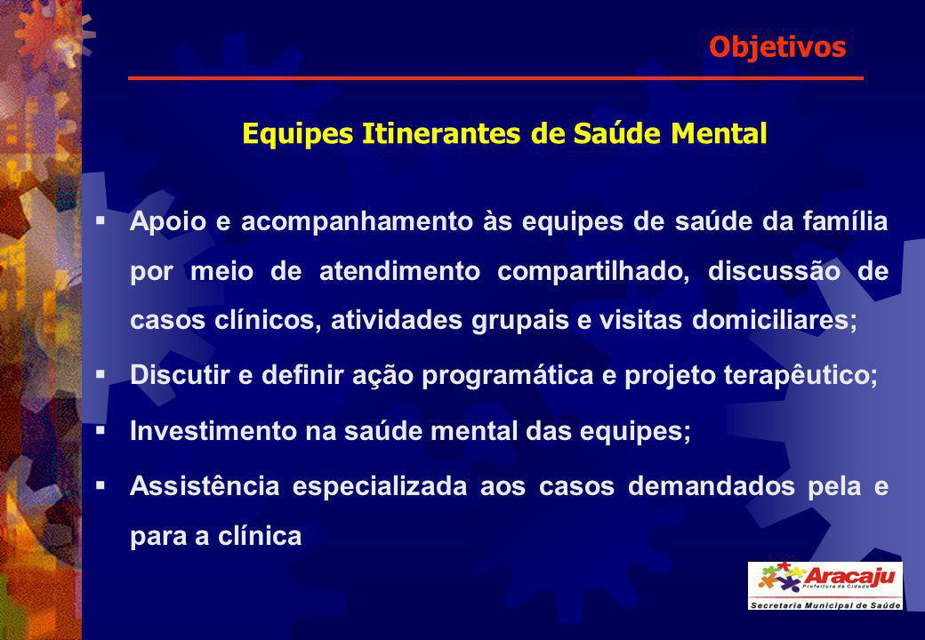 Equipes Itinerantes de Saúde Mental