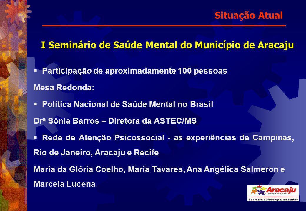 I Seminário de Saúde Mental do Município de Aracaju