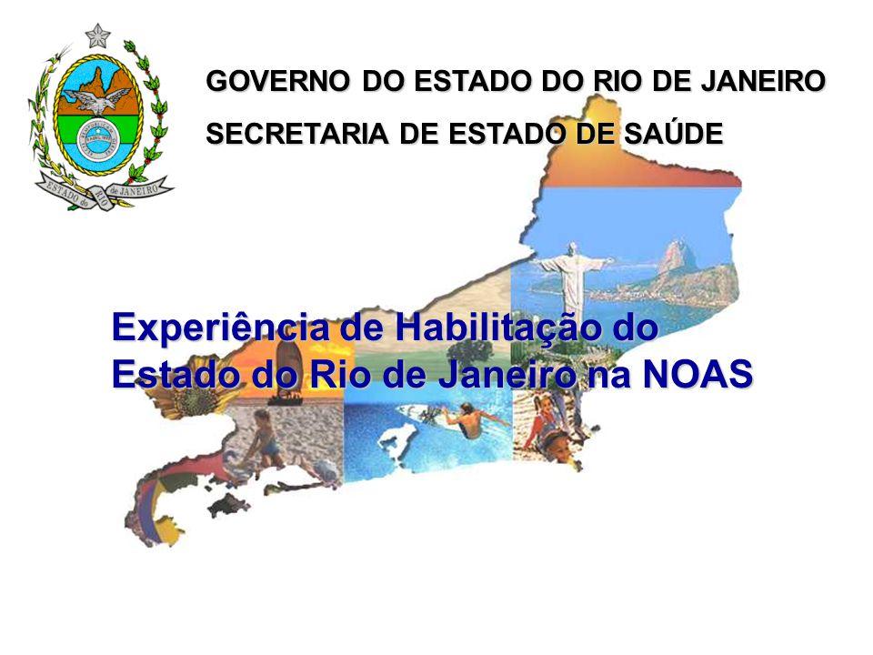 Experiência de Habilitação do Estado do Rio de Janeiro na NOAS